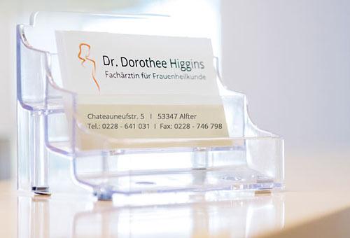 Frauenarztpraxis Dr. Higgins