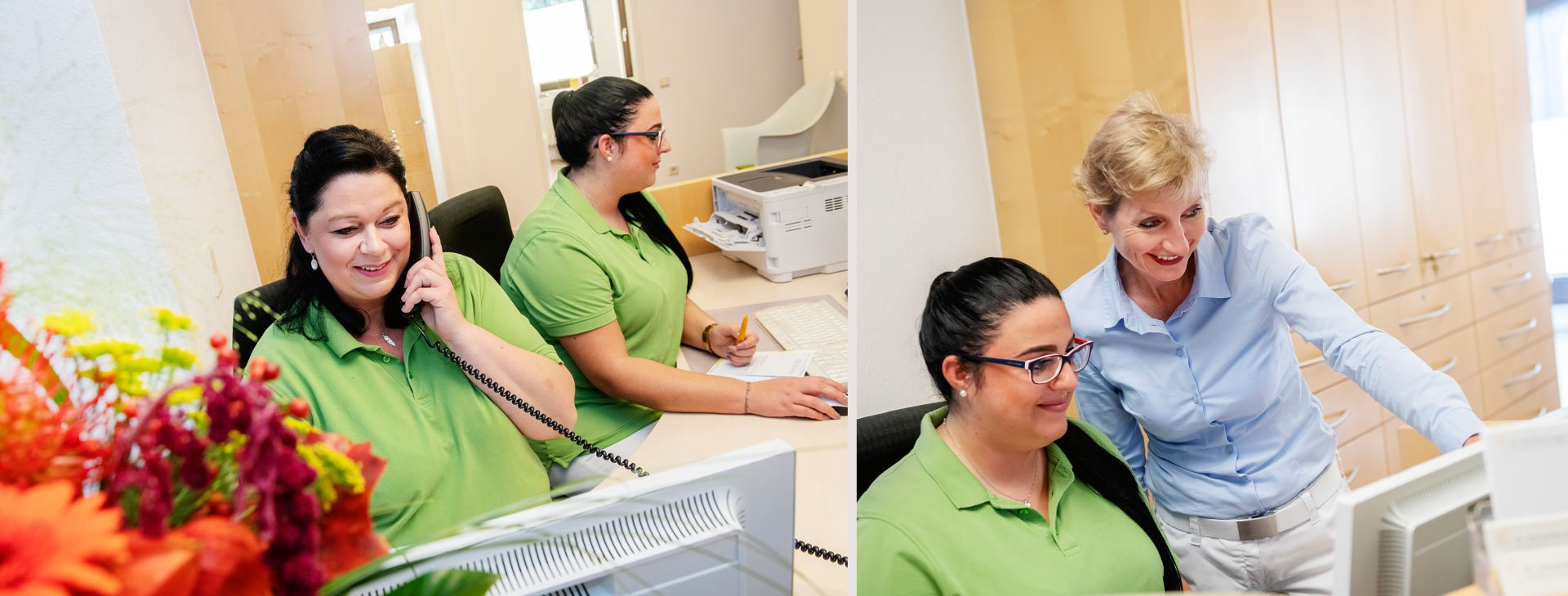 Frauenarzt Praxis Dr. Dorothee Higgins Alfter Team